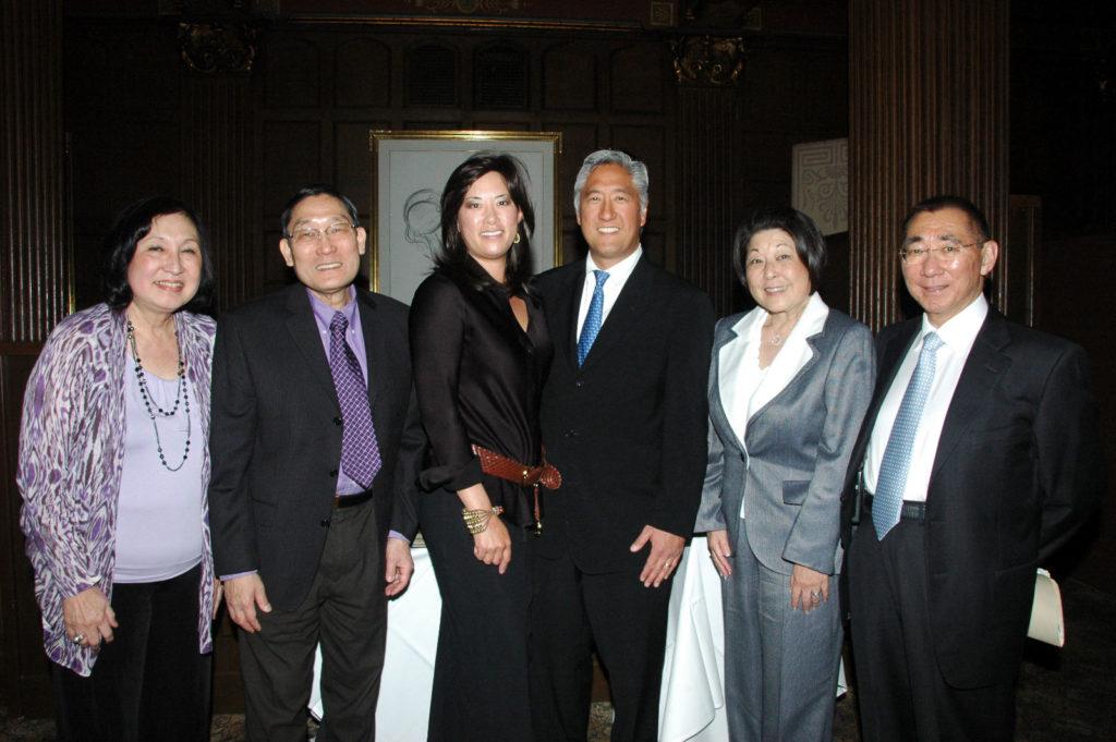 Gale Itagaki, Brian Itagaki, M.D., Nani Sumi, Elliot Sumi, M.D., Joanne Sasaki, Gordon Sasaki, M.D.